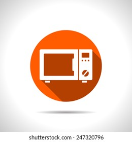 icon of microwave oven