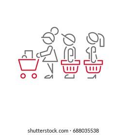 icon people Store queue