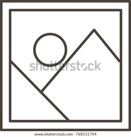 Icon Photo Frames Different Sizes Stock Vector (Royalty Free ...