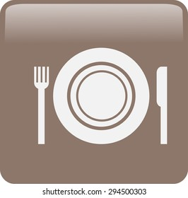Icon Plate Fork Knife Stock Vector (Royalty Free) 254944819 ... on little boy icon, shower icon, circuit breaker icon, kitchen utensils icon, kitchen remodel icon, kitchen appliances icon, bathroom icon, kitchen cabinets icon, wash hair icon, kitchen faucet icon, household fuse icon, toilet icon, kitchen fan icon, kitchen icon vector, circuit box icon, kitchen fridge icon, kitchen plan icon, kitchen table icon, kitchen silverware icon, kitchen counter icon,