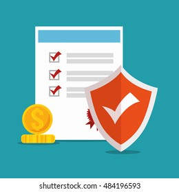 icon policy insurance security design