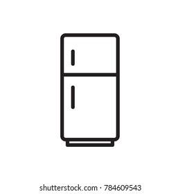 icon refrigerator electronic