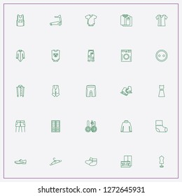 icon set about clothes with keywords basketbal shirt, wardrobe and baby loose jacket