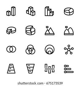 Icon set - chart