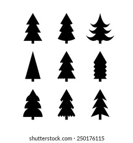 Clipart Transparent Download Black And White Oak Tree - Free Winter Tree  Clip Art - Png Download (#135) - PinClipart
