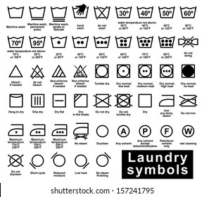 image relating to Laundry Symbols Printable referred to as Laundry Visuals, Inventory Pics Vectors Shutterstock