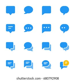 Icon set - Messages and Chat