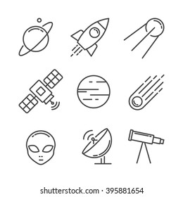 Icon set space