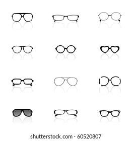 Icon Set, Sunglasses