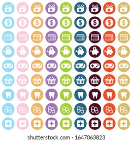 icon set vector for planner
