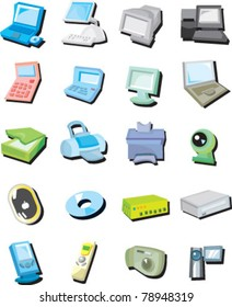 icon set-COMPUTER