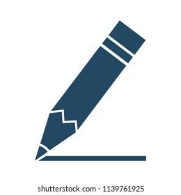 Penсil icon sign – stock vector