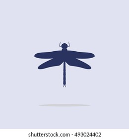 dragonfly silhouette images stock photos vectors shutterstock