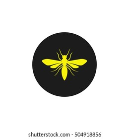 Icon, Silhouette of a wasp.
