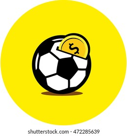 Icon Soccer Ball Coin Bank, showing that sport is a best financial investment.