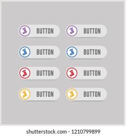 Icon socks - Free vector icon