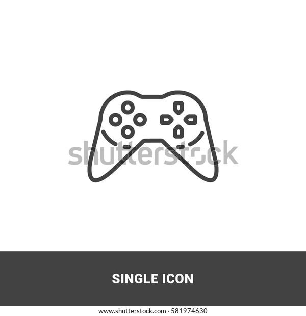 icon stick games single icon graphic design
