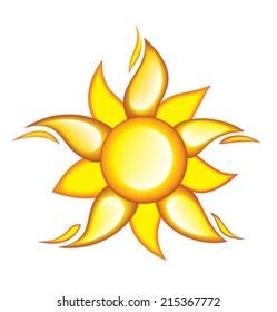 Icon of the sun