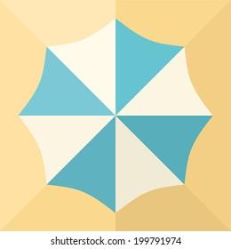 icon sun umbrella