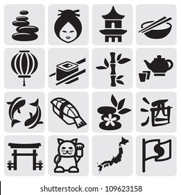 icon of traditional Japanese culture