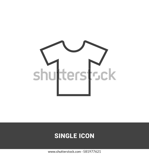 icon t-shirt clothes single icon graphic design