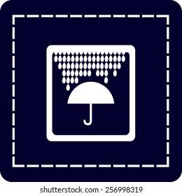 icon of umbrella