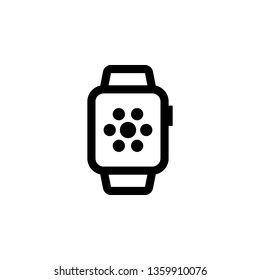 Smartwatch border icon. This icon use for admin panels, website, interfaces, mobile apps