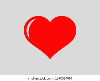 Icon vector heart, Valentine's Day, love, key of happiness, holiday.