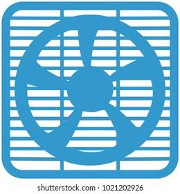 Icon of a ventilation louver