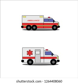 the iconic design of the ambulance is used for commercial use