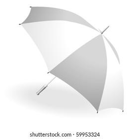 Iconic illustration of an umbrella