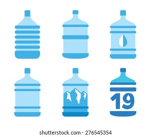 icons bottled water