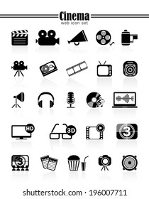 Icons cinema