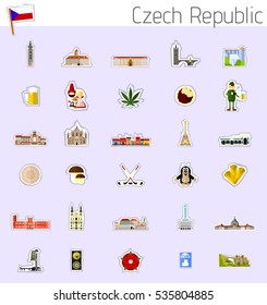 Icons of Czech Republic