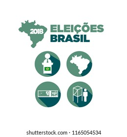 Icons Elections in Brazil 2018