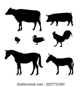icons for farm animals