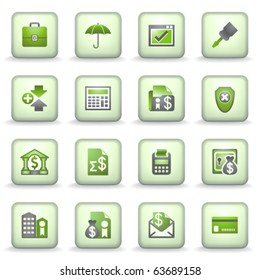 Icons green gray series 9