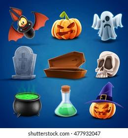 icons halloween