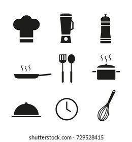 Icons set. Cooking