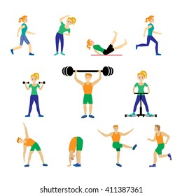 Warm up Exercise Images, Stock Photos & Vectors | Shutterstock