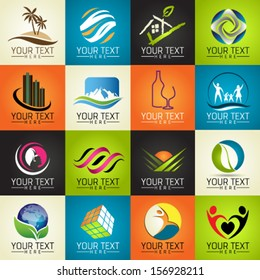 Icons Set of Modern Vector Elements. Graphic Design Editable For Your Design.