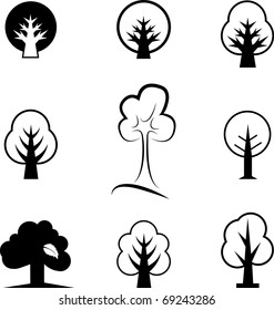 Icons of trees