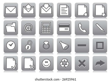 Icons for your computer desktop or design element