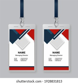 ID Card Design, ID Card Background,