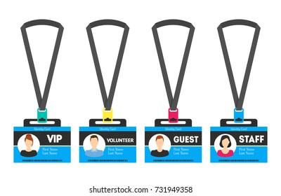 identification badges template - visitor badge images stock photos vectors shutterstock