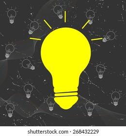 Idea Bulb - Business Concept Background