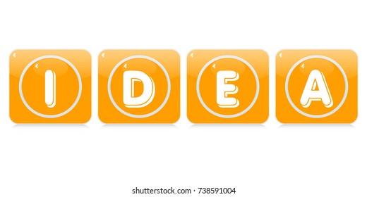 idea buttons