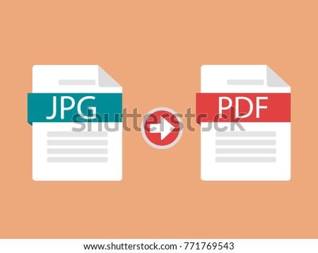 changing jpg to pdf