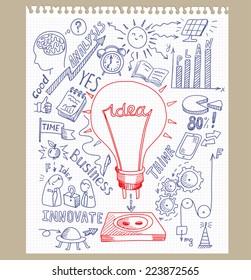 Sketchbook Ideas Stock Vectors, Images \u0026 Vector Art