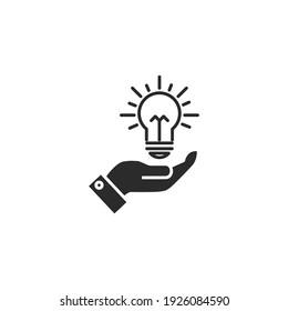 idea icon, isolated idea sign icon, vector illustration